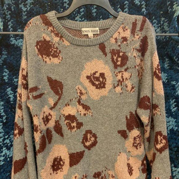 Medium Floral Sweater
